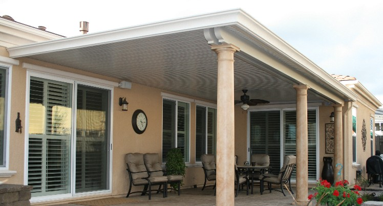 In addition to spending more quality time in your patio space, Solid Patio  Covers protect your valuable patio furniture for years of enjoyment. - Solid Patio Covers Design Gallery - Sacramento Patio Covers