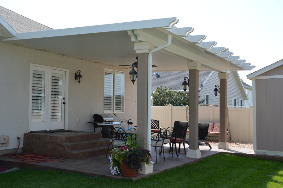 stucco columns upgrade sacramento patio covers