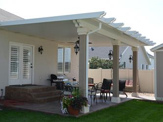 Stucco columns upgrade sacramento patio covers for Stucco columns
