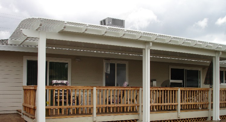 Solid Non Insulated Patio Cover Standard Sacramento