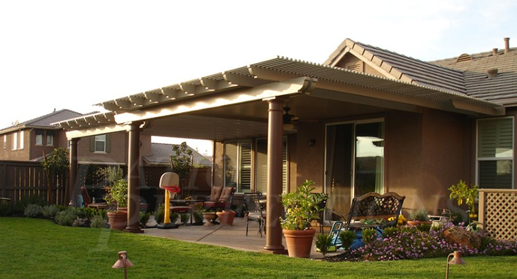 Combination Roof Systems. A Combination Patio Cover ...