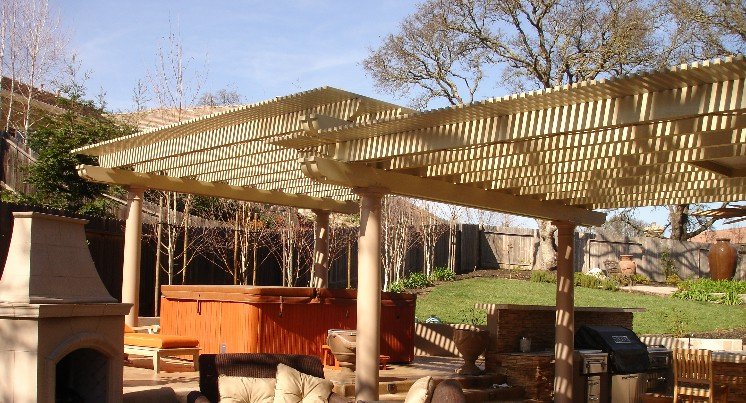 Sacramento Patio Covers Lattice Sun Shades Opening Roof Systems