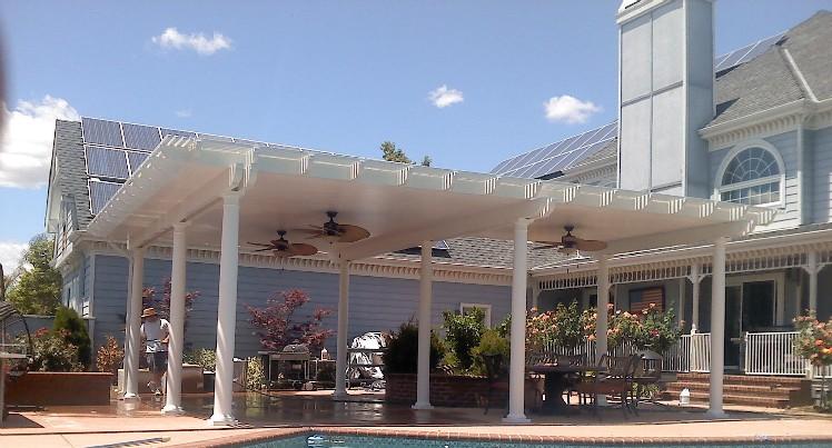 Sacramento Patio Covers   Lattice, Sun Shades, Opening Roof Systems